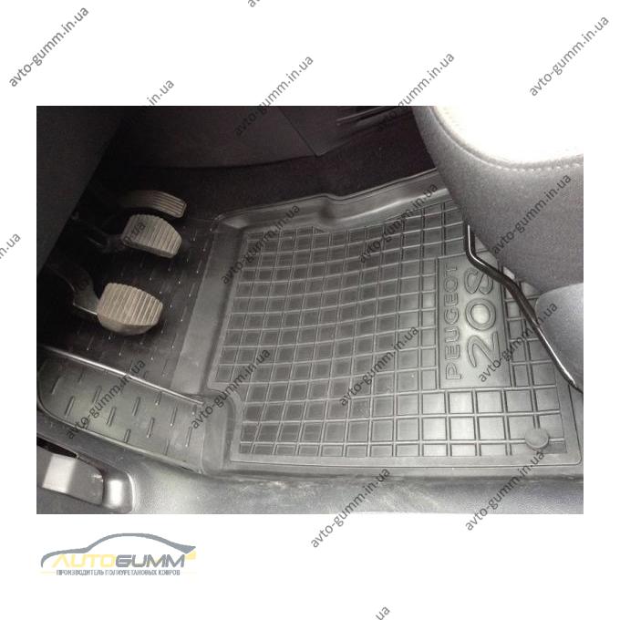 Автомобильные коврики в салон Peugeot 208 2013- (Avto-Gumm)