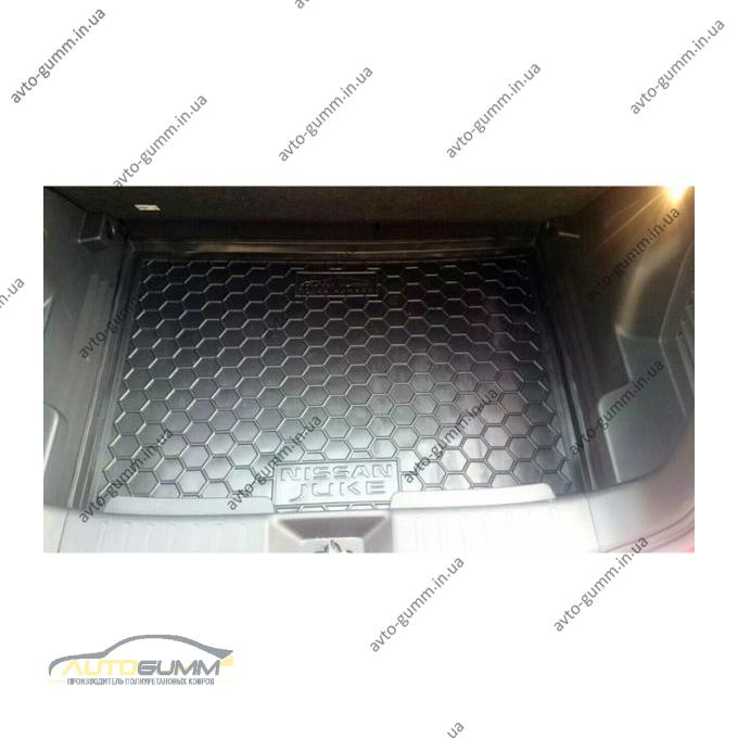 Автомобильный коврик в багажник Nissan Juke 2016- нижняя полка (Avto-Gumm)