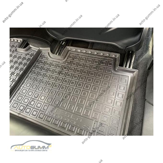 Автомобильные коврики в салон Tesla Model S 2012- (Avto-Gumm)