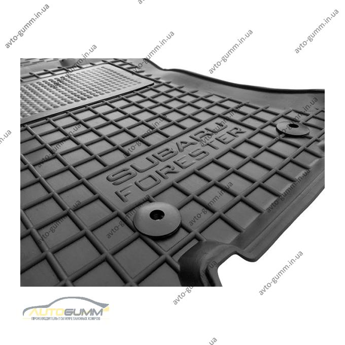Водительский коврик в салон Subaru Forester 4 2013- (Avto-Gumm)