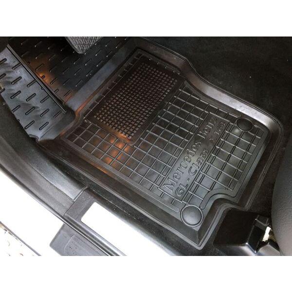 Передние коврики в автомобиль Mercedes GL (X164) 2006- (Avto-Gumm)