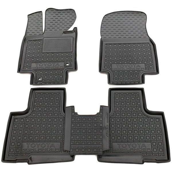 Автомобильные коврики в салон Toyota Highlander 4 2020- (AVTO-Gumm)