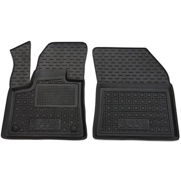 Передні килимки в автомобіль Peugeot 3008 2017- (Avto-Gumm)