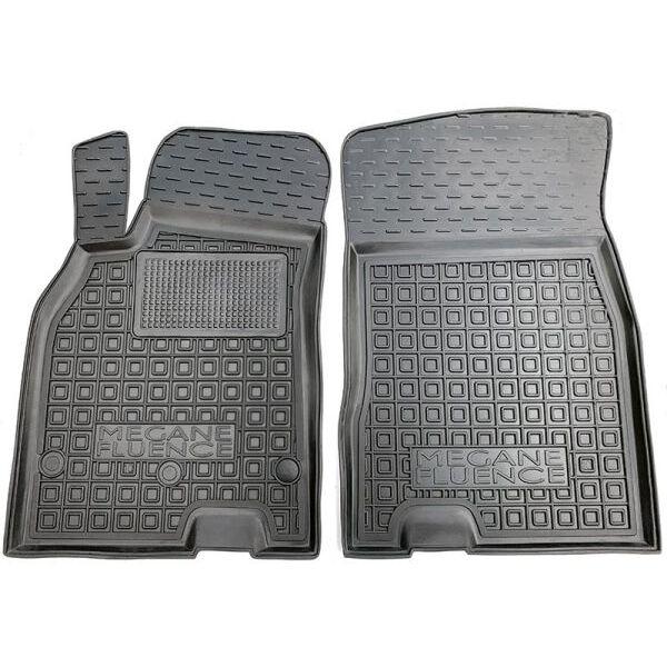 Передні килимки в автомобіль Renault Fluence 09-/Megane 3 Universal 09- (Avto-Gumm)