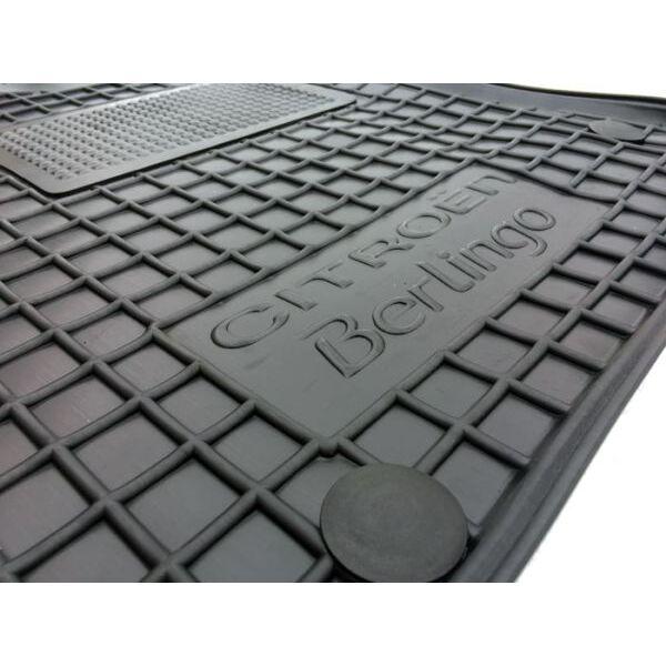 Водительский коврик в салон Citroen Berlingo 08-/Peugeot Partner 08- (Avto-Gumm)