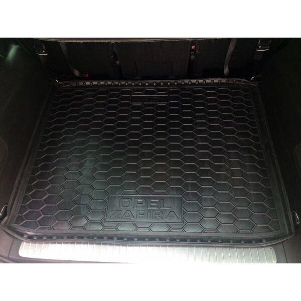 Автомобильный коврик в багажник Opel Zafira C 2017- (Avto-Gumm)