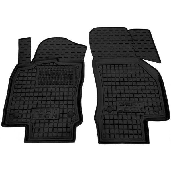 Передние коврики в автомобиль Seat Leon 2013- (Avto-Gumm)