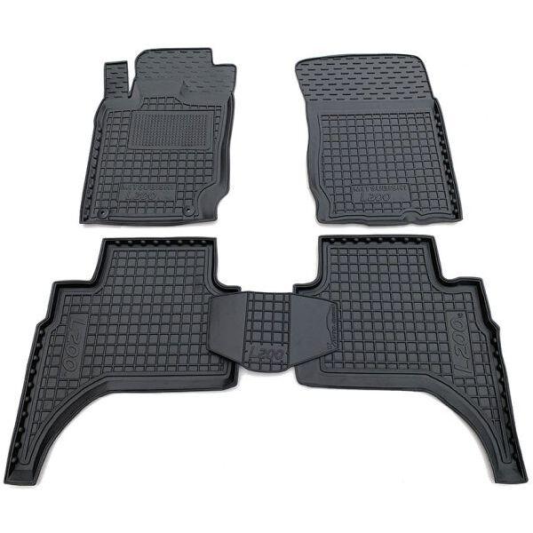 Автомобильные коврики в салон Mitsubishi L200 2016- Invite (Avto-Gumm)