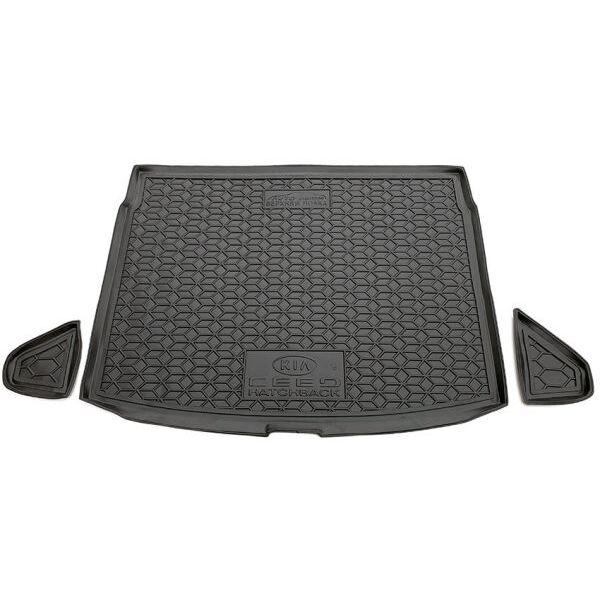 Автомобильный коврик в багажник Kia Ceed 2019- Hb (верхняя полка) (Avto-Gumm)