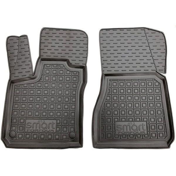 Передние коврики в автомобиль Smart Forfour 453 2014- (Avto-Gumm)