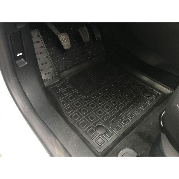 Водительский коврик в салон Ford Fiesta 2018- (Avto-Gumm)