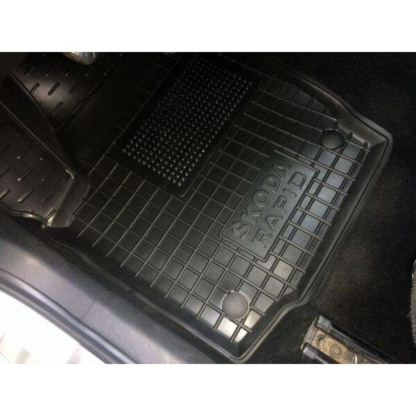 Автомобильные коврики в салон Skoda Rapid 2013- (Avto-Gumm)