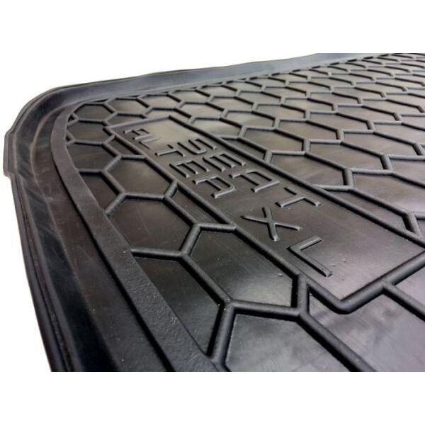 Автомобильный коврик в багажник Seat Altea XL 2006- нижняя полка (Avto-Gumm)