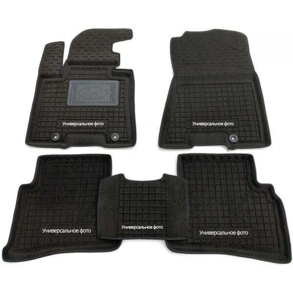 Гибридные коврики в салон Infiniti JX/QX60 2012- 5 мест (AVTO-Gumm)