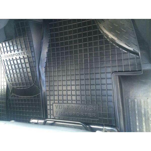 Автомобильные коврики в салон Volkswagen T5 Transporter 2003- (1+1) (Avto-Gumm)