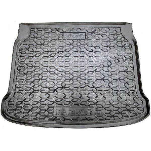 Автомобильный коврик в багажник Mazda 3 2019- Hatchback (Avto-Gumm)