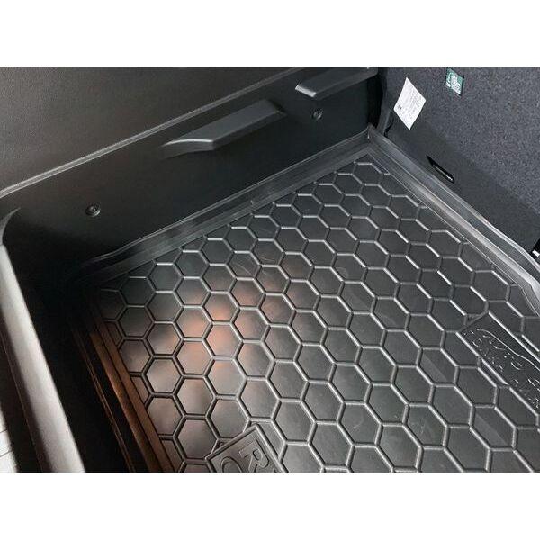 Автомобильный коврик в багажник Renault Captur 2015- нижняя полка (Avto-Gumm)