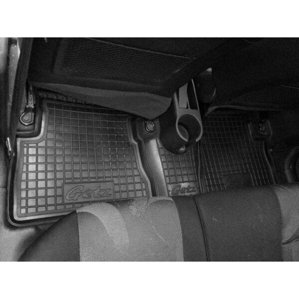 Автомобильные коврики в салон Hyundai Getz 2002- (Avto-Gumm)