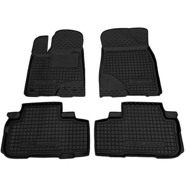 Автомобильные коврики в салон Toyota Highlander 3 2014-2020 (Avto-Gumm)