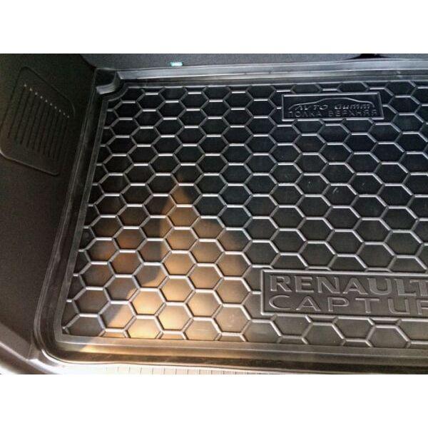 Автомобильный коврик в багажник Renault Captur 2015- верхняя полка (Avto-Gumm)