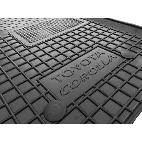 Водительский коврик в салон Toyota Corolla 2007-2013 (Avto-Gumm)