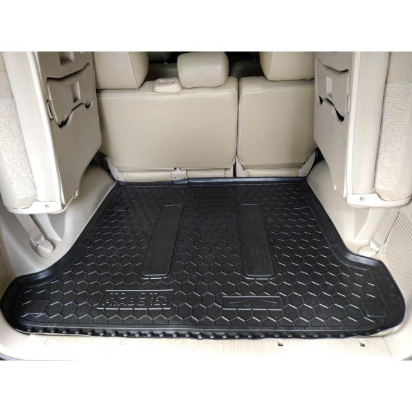 Автомобильный коврик в багажник Toyota Land Cruiser Prado 120 2002- (Avto-Gumm)