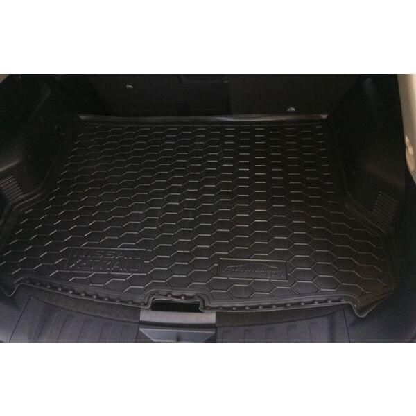 Автомобильный коврик в багажник Nissan X-Trail (T32) 2017- FL верхний (Avto-Gumm)