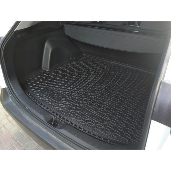 Автомобильный коврик в багажник Toyota RAV4 2019- (Avto-Gumm)