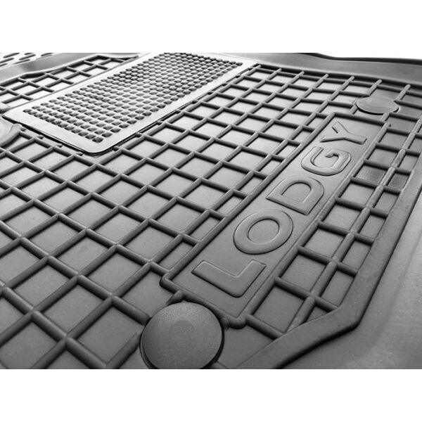 Водительский коврик в салон Renault Lodgy 2013- (Avto-Gumm)