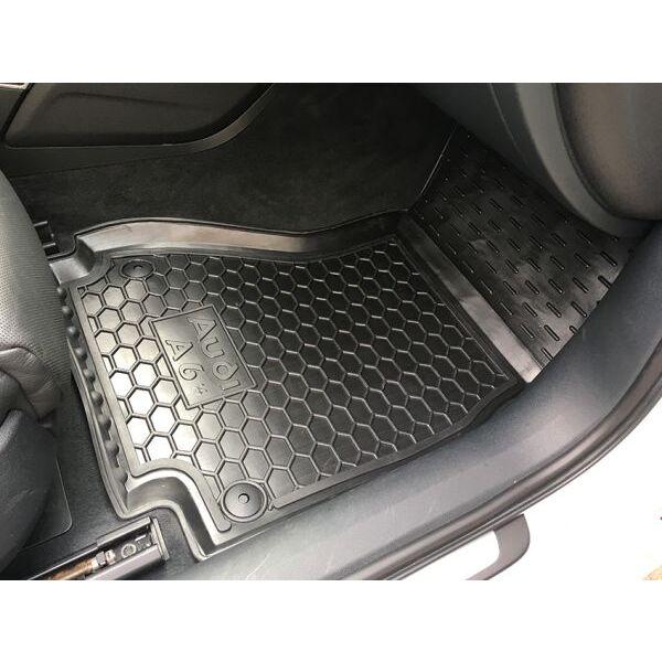 Передние коврики в автомобиль Audi A6 (C7) 2014- (Avto-Gumm)