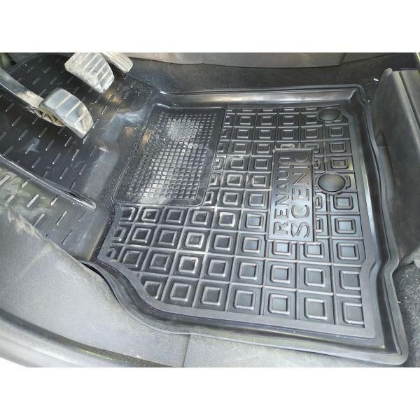 Водительский коврик в салон Renault Scenic 3 2009- (Avto-Gumm)