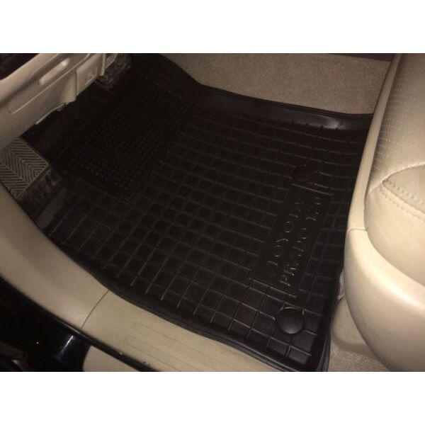 Передние коврики в автомобиль Toyota Land Cruiser Prado 120 2002- (Avto-Gumm)