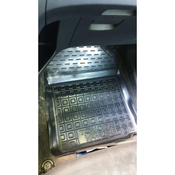 Передние коврики в автомобиль Toyota Yaris 2006- (Avto-Gumm)
