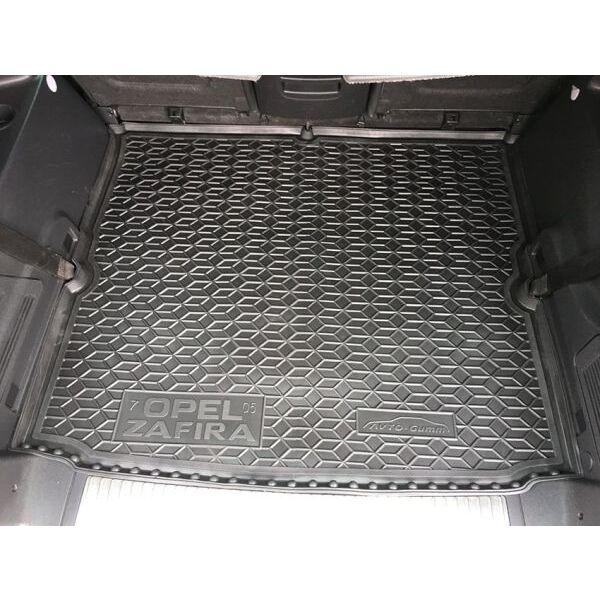 Автомобильный коврик в багажник Opel Zafira B 2005- 7 мест (Avto-Gumm)