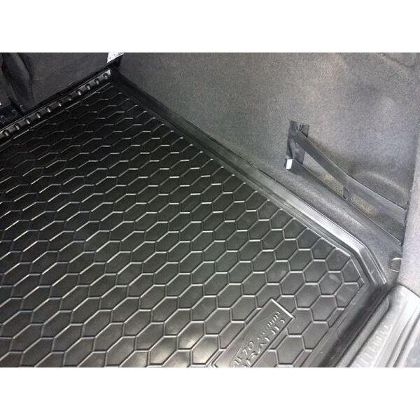 Автомобильный коврик в багажник Renault Grand Scenic 3 2009- (Avto-Gumm)