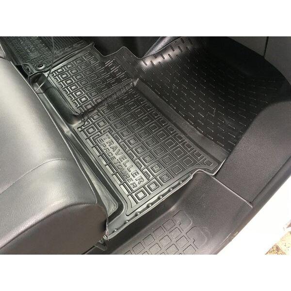Автомобильные коврики в салон Citroen Jumpy/SpaceTourer 2017- (1+2) передние (Avto-Gumm)