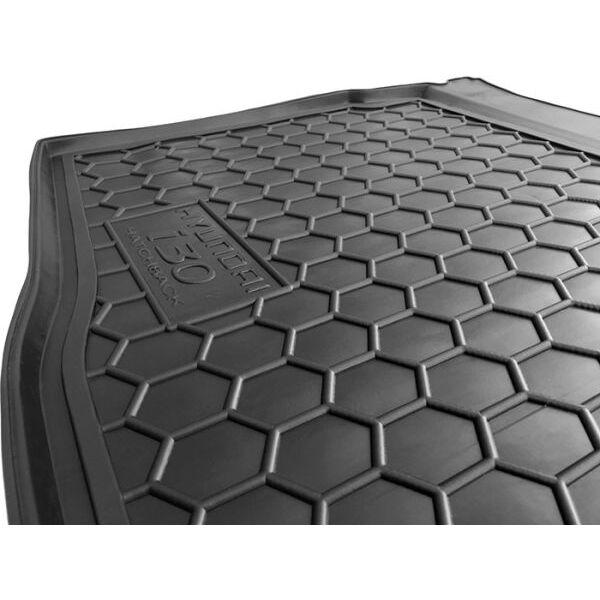 Автомобильный коврик в багажник Hyundai i30 2012- Hatchback (Avto-Gumm)