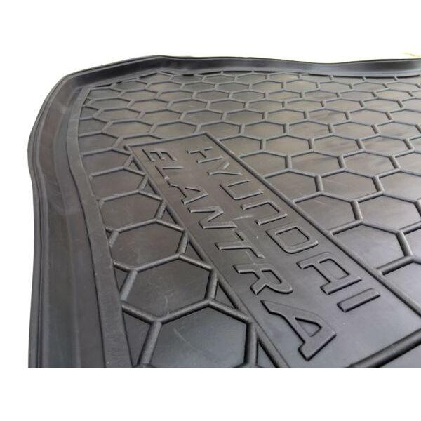Автомобильный коврик в багажник Hyundai Elantra (MD) 2011- (Avto-Gumm)
