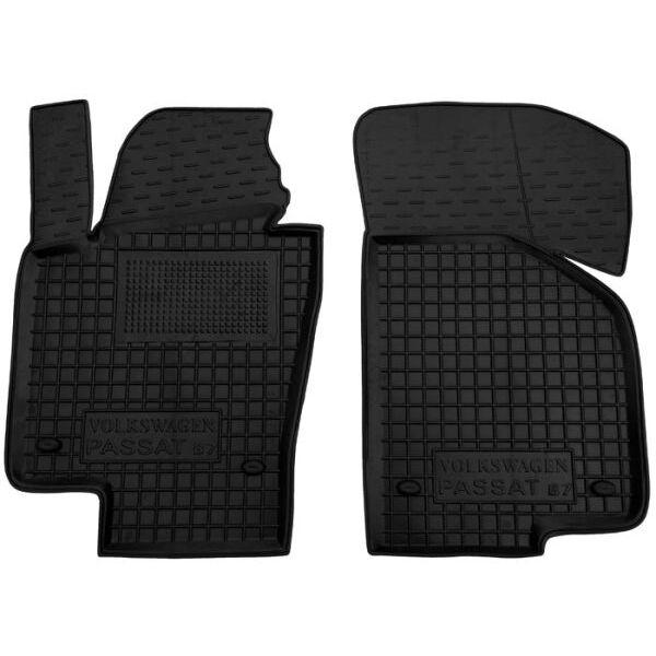 Передні килимки в автомобіль Volkswagen Passat B6 05-/B7 11- (Avto-Gumm)