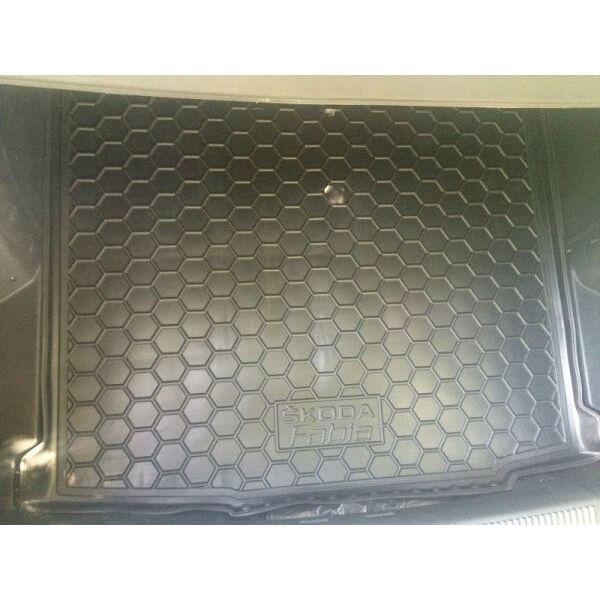 Автомобильный коврик в багажник Skoda Fabia 2 2007- Universal (Avto-Gumm)