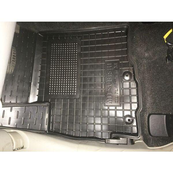 Водительский коврик в салон Mitsubishi Outlander XL 2007-2012 (Avto-Gumm)