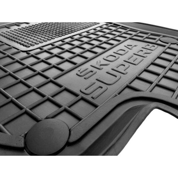 Водительский коврик в салон Skoda SuperB 2008-2014 (Avto-Gumm)