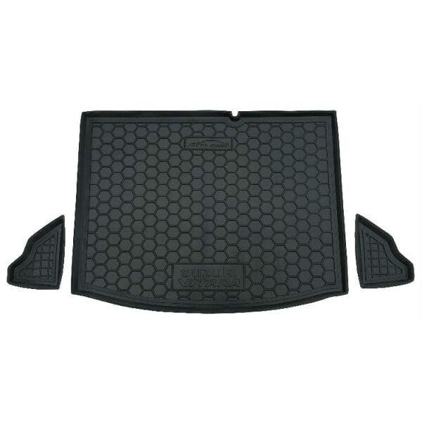 Автомобильный коврик в багажник Suzuki Vitara 2014- (Avto-Gumm)