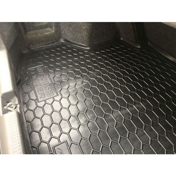 Автомобильный коврик в багажник Mitsubishi Lancer 9 2003- Sedan (Avto-Gumm)