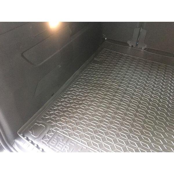 Автомобильный коврик в багажник Peugeot Rifter 2019-/Citroen Berlingo 2019- длинная база (Avto-Gumm)