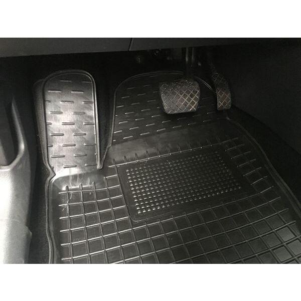 Передние коврики в автомобиль Volkswagen Polo Sedan 2010- (Avto-Gumm)