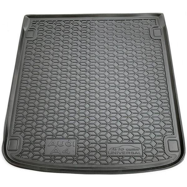 Автомобильный коврик в багажник Audi A4 (B9) 2016- Universal (Avto-Gumm)
