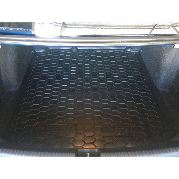 Автомобильный коврик в багажник Volkswagen Jetta 2011- Top (Avto-Gumm)