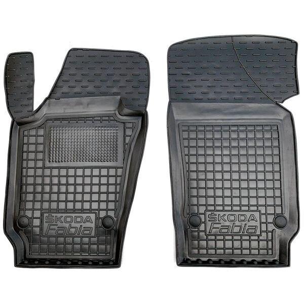 Передние коврики в автомобиль Skoda Fabia 3 2015- (Avto-Gumm)