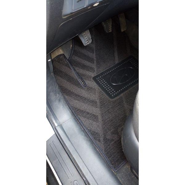 Текстильные коврики в салон Hyundai Santa Fe 2006-2010 (AVTO-Tex)